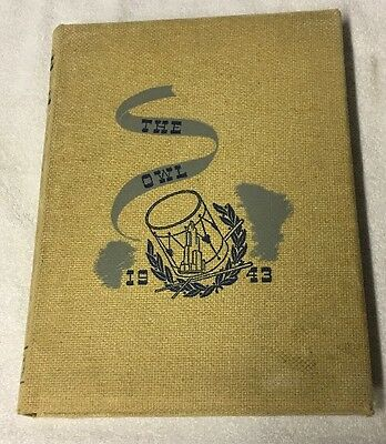 1943 University Of Pittsburgh - The Owl - Yearbook