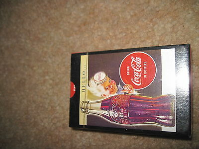 Vintage Coca Cola Playing Cards Hello Again NEW/SEALED