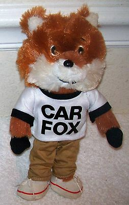 "CAR FOX 10"" Plush Show Me the Car Fax"