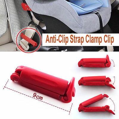 Child Car Seat Baby Auto Safety Kits Belt Fitted Non Anti-Clip Strap Clamp R
