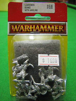 Warhammer Lizardmen Skinks With Javelins