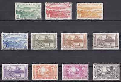 NEW HEBRIDES (Fr) - 1957 - Indigenous Images. Complete set, 11v. Mint NH