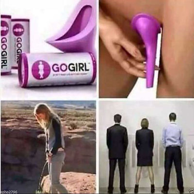 Women Urinal Travel Outdoor Camping Soft Silicone Urination Pee Toilet Devic