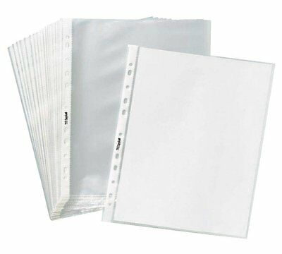 "Clear Sheet Page Protectors 8-1/2"" x 11"" Box of 200 Sleeves document office"
