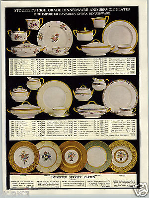 1930 PAPER AD Stoufferu0027s China Dinnerware Plates Bavarian Gold Vase COLOR & 1922 PAPER AD 8 PG Blacksmith Anvil Tools Tongs Forge Champion ...
