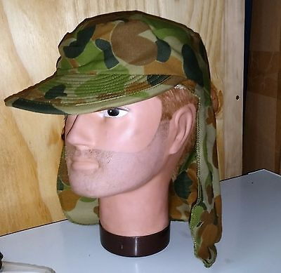 Keppie Cap Ozzie Camo - Australian  Medium & X-Large Armoured Corps Genuine