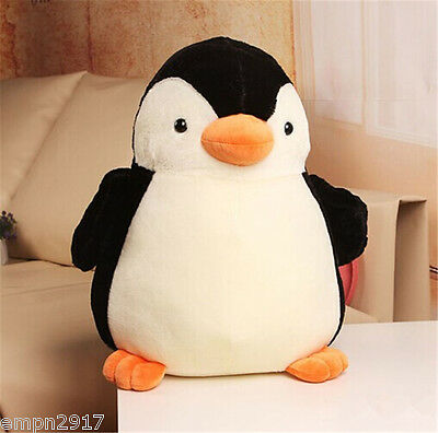 Cute Penguin Kids Plush Toy Stuffed Animal Soft Toy Doll Pillow Cushion Gift 11""