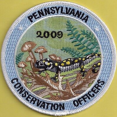 Pa Fish Game Commission Pennsylvania Conservation Officers 2009 Salamander Patch