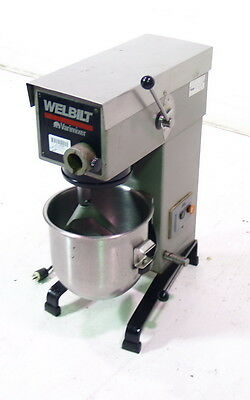 Used Varimixer 20-QT Planetary Dough Mixer with Paddle - W20A
