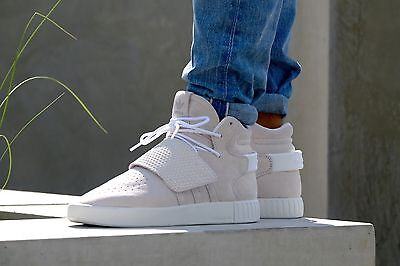 d70459903e2 Nib Mens Tubular Invader Strap Yeezy Kanye West Suede Sneakers Shoes Bb5038