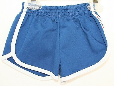 VINTAGE 1970s Heatlh Tex 2T-3T Toddler Boys Shorts with White Trim