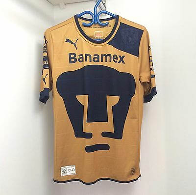 Puma Pumas UNAM 2012/13 Home Jersey Small Short Sleeve SS Liga MX