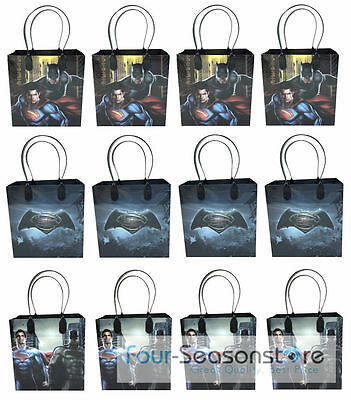 24pc Dc Comic Batman Vs Superman Birthday Goody Bags Party Favor Loot Gift