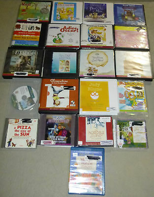Lot of 21 Childrens Fiction Unabridged Audiobooks on CD