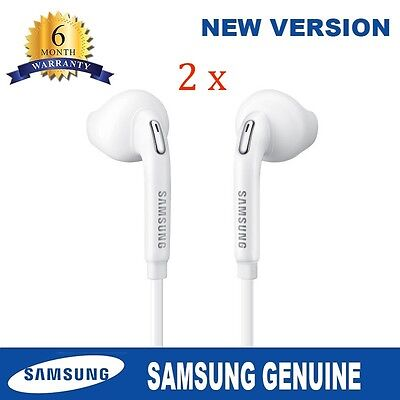 2 X Genuine Handsfree Headphone Earphone For Samsung Galaxy S3 S5 S6 S7 Note 2