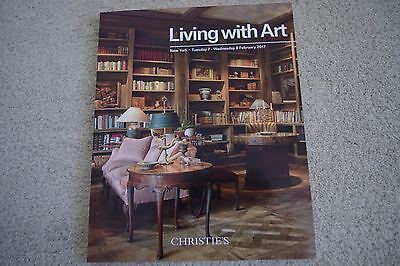 Christie's Living With Art New York - February 2017 - Auction Catalog