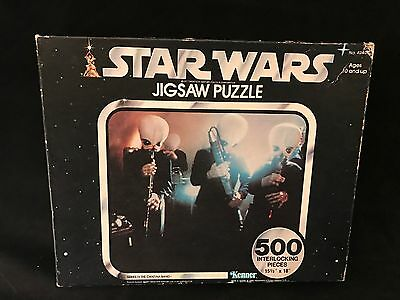 Vintage 1977 Star Wars 500-piece Puzzle Series IV The Cantina Band