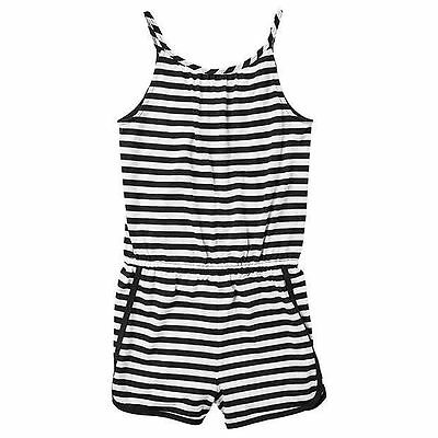 Girls size 16 Black & White stripey playsuit  NEW Target play jump suit jumpsuit