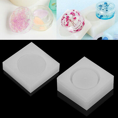 Silicone Storage Box Mold Making Jewelry Resin Casting Mould DIY Craft Tool Hot