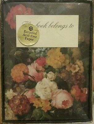 Antioch Floral Array / Colorful Flowers 30 Self Stick Bookplates NIP