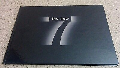 2002 BMW 745i 745Li Hardcover Dealer Sales Catalog Book Brochure 7 Vintage 745