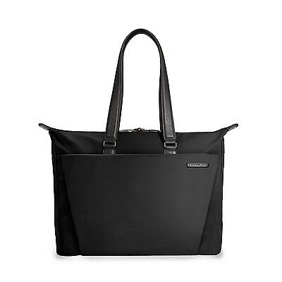 Briggs & Riley Sympatico Shopping Tote Black One Size, NWT