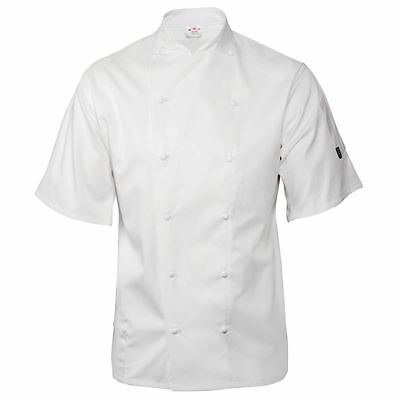 Le Chef Staycool Short Sleeve Jacket White