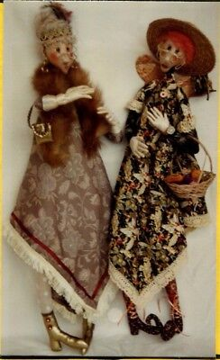 "��""AUNT DILLY"" or ""LADY DOODLE"" doll pattern designed by ""Vivienne Stewart ""��"
