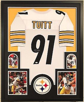 Framed Stephon Tuitt Autographed Signed Pittsburgh Steelers Jersey Jsa Coa dc099b131