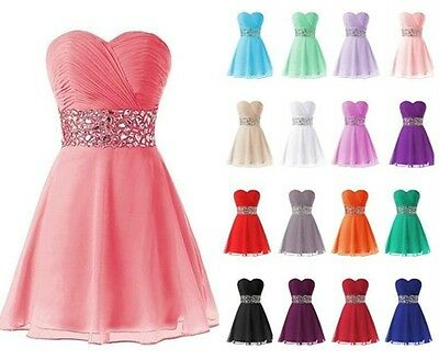 New Short Evening Party Dress Formal Homecoming Prom Gown Bridesmaid Dress
