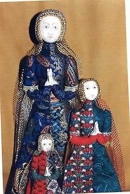 "��""Lady GRACE"" Medieval doll pattern designed by ""Priscilla McDonald ""��"