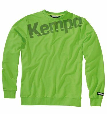 Kempa Kids Core Sweatshirt Jumper Top Sports Training Casual Crew Neck Junior ..