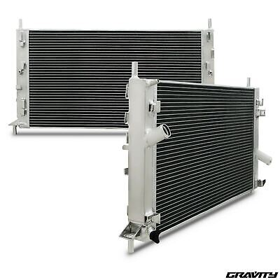 40mm ALUMINIUM ALLOY RACE ENGINE RADIATOR RAD FOR FORD FOCUS MK2 ST225 ST 225