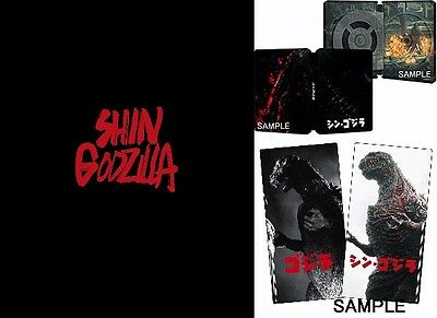NEW! Shin Godzilla Blu-ray Special Edition 3 Disc w/Bonus Amazon Limited JAPAN
