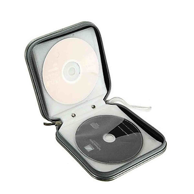 42 CD DVD Carry Case Disc Storage Holder CD Sleeve Wallet Ideal for In Car