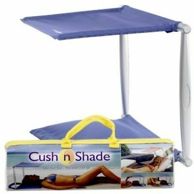 Cushnshade - Sun Shade & Cushion (chair beach garden screen face sunscreen cream