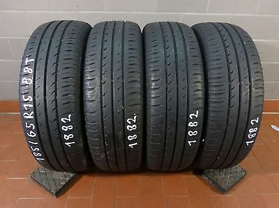 4 Sommerreifen 185/65R15 88T Continental Conti Eco Contact 3  5,5mm Profiltiefe