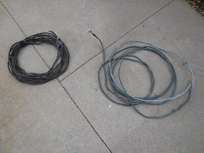 80 ft of antique Lighting Rod Weathervane Twisted Solid Copper Wire
