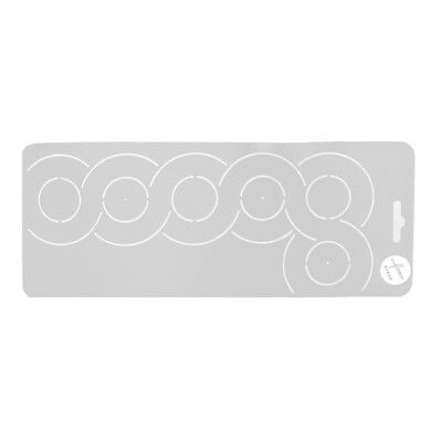 3pcs Plastic Quilting Creation Stencil Template for DIY Sewing Stitching