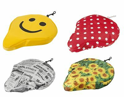 Colourful Ladies & Men's Padded Bicycle Decorative Saddle Cover