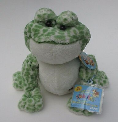 LR2 Spotted frog WEBKINZ PLUSH new with code ganz stuffed animal