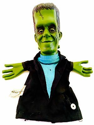 1964 Mattel Talking Herman Munster Puppet, The Munsters, Plays Music, One Owner!