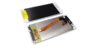 Original Huawei Ascend Mate 7 MT7 LCD Touchscreen Display Cover Glas Rahmen weiß