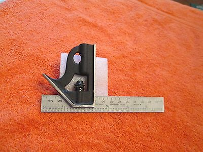 STARRETT 10MEH-150  6-Inch and 150mm Rule Student Combination Square. USA Made.