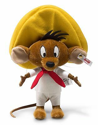 Steiff Looney Tunes Speedy Gonzales Brown Mohair Jointed 20cm Limited Ed 354632