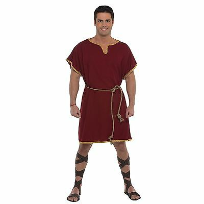 Mens Standard Size L Greek Roman God Hercules Mythology Gladiator Tunic Costume