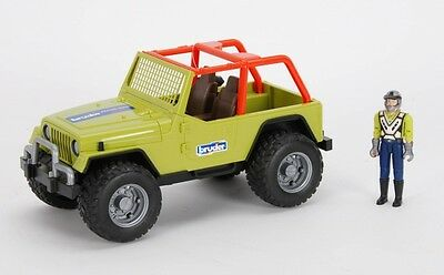 Bruder 09037 Jeep Cross Country Racer grün