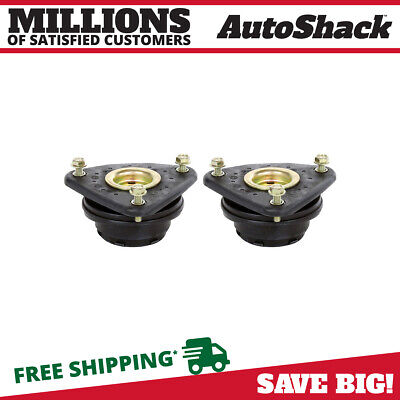 Pair (2) Front Strut Mounts For a 04-11 Mazda 3 Mazda 5 Ford Focus Europa