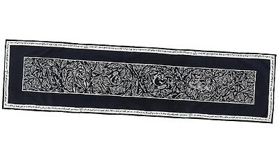 """Disney Parks Beauty & The Beast Be Our Guest Chalkboard Table Runner NEW 72"""""""