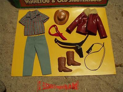 Big Jim - Karl May Winnetou Outfit - Wagon Driver mit OVP - Mattel  9913 / 9945
